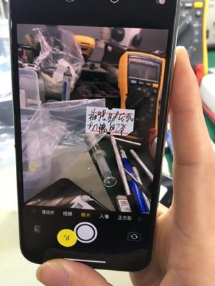 iPhone X CPU问题导致拍照重启故障维修