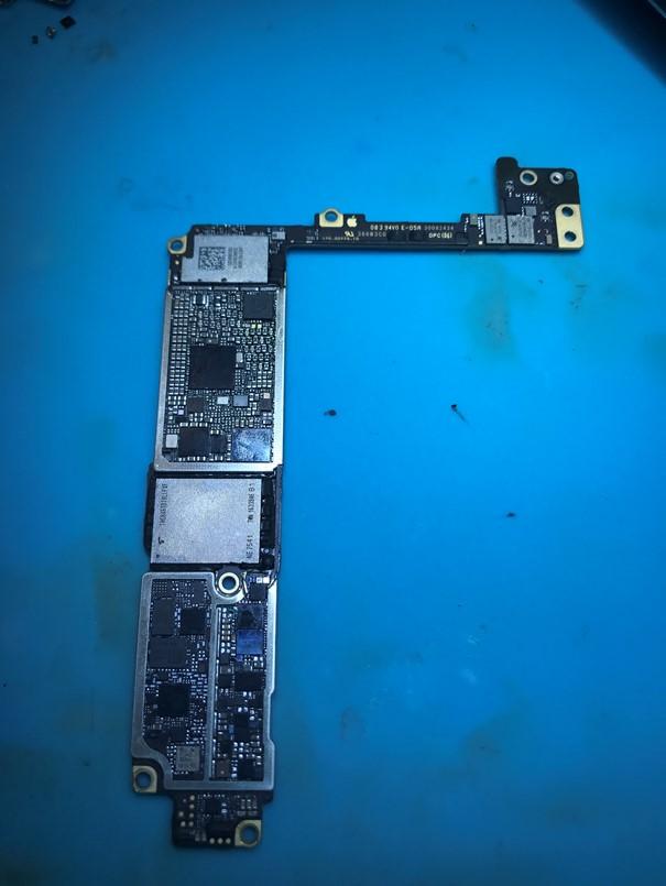iPhone7 Plus二修进水NFC腐蚀导致报错56维修一例