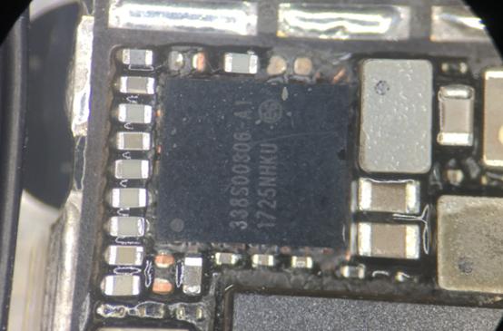 iPhone 8 二修摄像头供电芯片连锡导致不照相故障维修