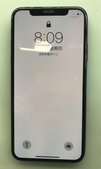 iPhone X摔后手机无触摸故障维修