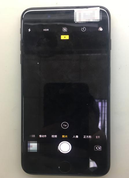 iPhone 7 Plus 后置摄像不能用,无法拍照故障维修