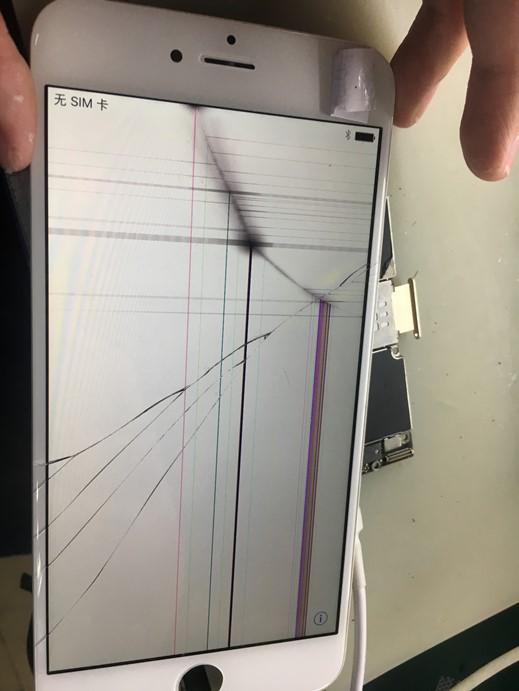 iPhone6 Plus插卡不认卡无法接打电话故障维修